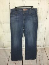 GAP WOMEN'S JEANS SIZE 14 CURVY FLARE BOOT CUT MEDIUM WASH DENIM CASUAL PANTS