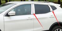 Stainless Steel Window Pillar Post Cover Trim For Nissan Qashqai J11 2014-2016
