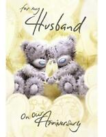 ME TO YOU FOR MY HUSBAND ON OUR ANNIVERSARY CARD TATTY TEDDY BEAR NEW GIFT