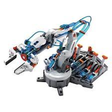 HYDRAULIQUE BRAS ROBOT modèle Kit Bricolage Télécommandé enfants jouet éducatif