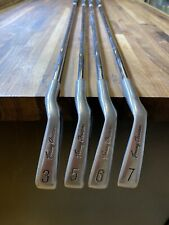 Tommy Armour 855s Silverscot 3,5,6,7 Irons Regular Flex Steel Shaft