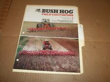 PY77) Bush Hog Sales Brochure 4 Pages - Field Cultivator