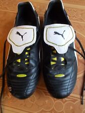 One Pair Men's Preowned Puma Esito Sport Lifestyle Spiked Shoes, Size 11-1/2