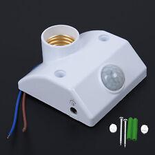 E27 cuerpo sensor de movimiento automático infrarrojo base de la lámpara de la luz INTERRUPTOR titulares