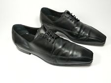 Christian Dior black leather formal shoes uk 6 eu 40
