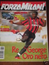FORZA MILAN 1996/1 GEORGE WEAH PALLONE D'ORO / BAGGIO @
