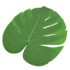12Pcs Monstera Leaf Table Cutlery Mat Coaster Family Wall Decoration YZ