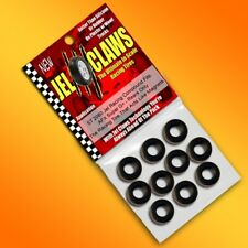 1/64 HO Scale AFX Slot Car Tires Jelclaws 10pk Fits Super G+ Wheels (Rears)