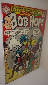 THE ADVENTURES OF BOB HOPE #96 FN- DC 1966 SUPER HIP FOOTBALL STORY