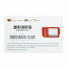 Rogers Mobile CANADA 4G LTE Multi Sim Card - 3 in 1 Combo - FREE Shipping