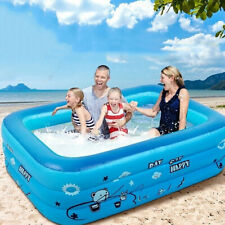 � Intex Deluxe Inflatable Kids Patio Garden Rectangular Paddling Swimming Pool