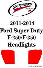 3M Scotchgard Paint Protection Film 2012 2013 2014 Ford Super Duty F-250 / F-350