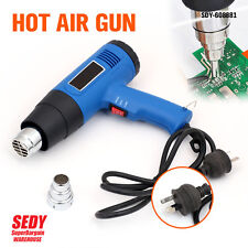 NEW 1600W HEAT GUN ELECTRIC HOT AIR 50°C-550°C ADJUSTABLE POWERFUL HEAT OUTPUT