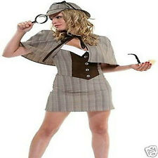 Private Eye Sexy Detective Costume Halloween costume 65% Polyester size L/XL