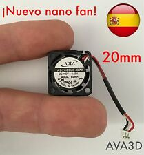 Mini Micro Ventilador refrigeración 20mm 5v FAN 3D Printer Reprap arduino cnc Rc