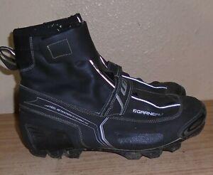 Garneau Klondike Heel Retention System-80 Cycling Shoes Men's Size 11.5 size 46