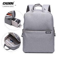 Caden Waterproof Camera Backpack Bag Rucksack Case For Nikon Sony Canon DSLR SLR
