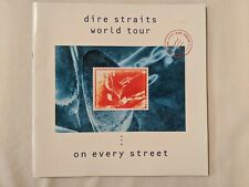 Dire Straits World Tour Book - On Every Street