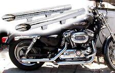 Marmitta Terminali Scarico Dragpipe Harley Davidson Sportster XL 883 1200 Cromo