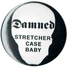 The Damned Stretcher Case Baby 1 inch  25mm Button Pin Badge