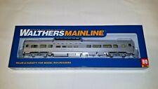 Walthers HO Scale 85' Budd Dome Coach Santa Fe NIB