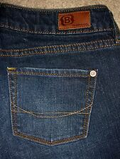 BULLHEAD Sunset Straight Stretch Dark Denim Jeans Womens Size 0 x 31