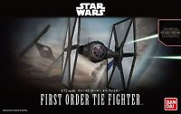 BANDAI STAR WARS MODEL KIT first order tie fighter MAQUETTE 1/72 A MONTER