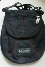 """Columbia Sportswear Unisex Cross Body Carry Bag NEW Zips No Tags 81/2"""" By 7"""""""