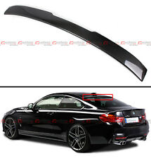 FOR 2014-18 BMW F32 428i 435i 4 SERIES COUPE CARBON FIBER REAR ROOF SPOILER WING