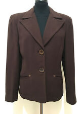 CULT VINTAGE '40 WWII Giacca Donna Antica Lana Old Woman Wool Jacket Sz.M - 44