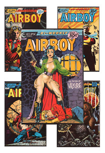 Airboy #5-20 VF/NM 9.0+ 1986-1987 Eclipse Comics Back Issues Buck Rogers style