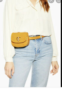 TOPSHOP DELILAH Belt Bag ochre yellow  new WITH TAGS