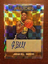 2017-18 Panini Hoops Basketball Jordan Bell Rookie On Card Autograph Warriors