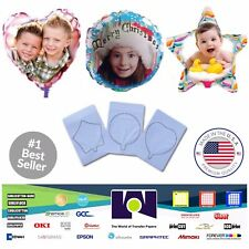 """Family Pack InkJet Printable Personalized Ballons A4 (8.27""""x11.69"""") 1 Each Ref"""