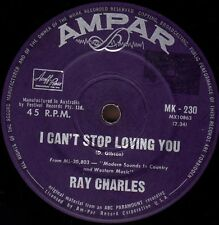 RAY CHARLES I Can't Stop Loving You / Born To Lose  45