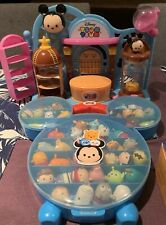 Tsums Tsums Collection + Collection Case + Playset.   In PERFECT Condition!!