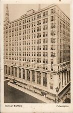 Postcard,Philadelphia,PA Famed Gimbel's Department Store,Real Photo