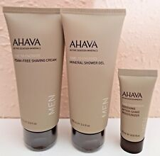 New AHAVA Sarter Kit For Men TIME TO ENERGIZE