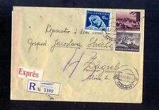 KROATIEN R-Eil-Brief 1944 Zensur