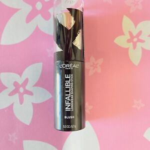 Loreal Infallible Longwear Shaping Stick Blush #45 SEXY FLUSH New