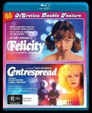 Felicity / Centrespread (Blu-ray) Erotica.Tony Paterson [All Regions] NEW/SEALED
