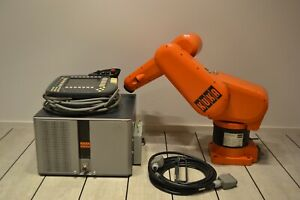 KUKA  KR 3  Robot 6 Axis at 3kg Payload w/ KR C3, and KCP2 Teach, Will ship