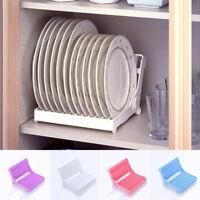 Kitchen Space Saving Dish Rack Organizer Dish Plate Bowl Dryer Holder Stand New