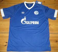 Trikot FC Schalke 04 Gazprom Umbro Gelsenkirchen blau XXL 2XL Home