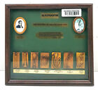 """Vintage Antique Wooden Plaque & Sign """"The History Of The Stethoscope"""""""