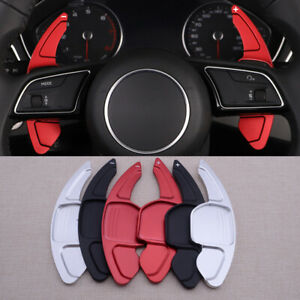 Steering Wheel Shift Paddle Extension Shifter Fit For Audi A3 A4 A5 Q3 Q5 Q7