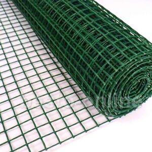 Plastic Sqaure Mesh Garden Border Netting Flexible Fencing Plant Barrier Safety