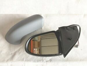 WING DOOR MIRROR HEATED ELECTRIC GREY (PRIME) R/H O/S FOR NISSAN QASHQAI 2007+