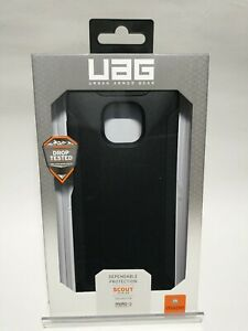 Authentic UAG Urban Armor Gear Scout Series Case for Moto g power(2021) (Black)
