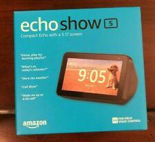 NEW! Amazon Echo Show 5 Smart Display with Alexa - Charcoal